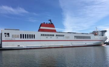 """El buque """"Superfast Baleares"""" entrará en breve en la línea de Canarias"""