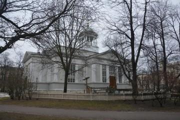 La Iglesia Vieja fue la primera construida en Helsinki después de otorgada la capitalidad
