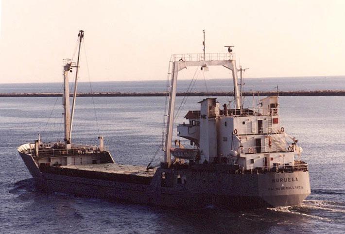 """El buque """"Noruega"""", en sus primeros años de mar"""