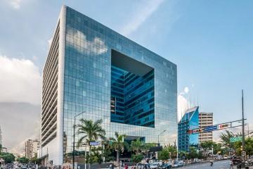El edificio Parque Cristal es realmente espectacular. Un icono de la arquitectura contemporánea de Venezuela
