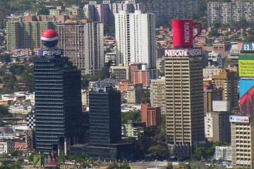 La enorme taza de Nescafé fue un extraordinario reclamo publicitario
