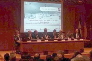 """Los integrates de mesa redonda, en el acto organizado por """"Diario de Cádiz"""""""