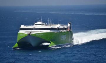 La flota de Naviera Armas se incrementa con un catamarán de factura australiana