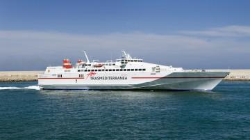 """El fast-ferry """"Almudaina Dos"""" reforzará Melilla-Málaga en Navidades"""