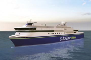 """Ese será el aspecto externo del buque del proyecto """"Color Hybrid"""""""