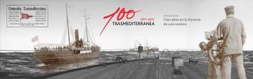 Trasmediterránea arranca con los actos de celebración del centenario de la compañía