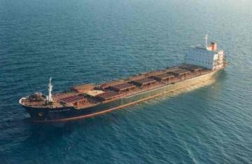 """Estampa marinera del """"bulkcarrier"""" """"Castillo de Xátiva"""""""