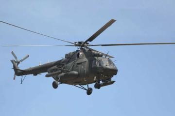 El helicóptero, de fabricación rusa, es del modelo MI 17V5