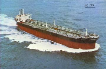 """El petrolero """"Ocean Park"""", en pruebas de mar"""