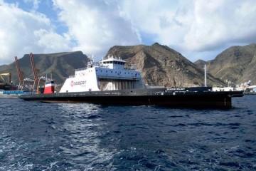 """El buque """"Seaspan Reliant"""" realiza su viaje de entrega oficial"""