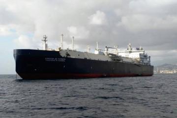"""El buque metanero rompehielos """"Christophe"""