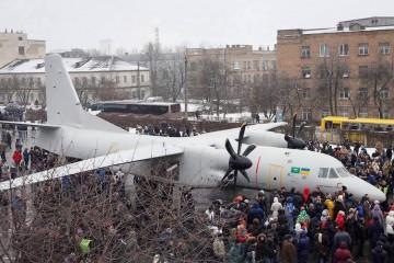 El aspecto exterior del nuevo avión recuerda al Fokker F-50