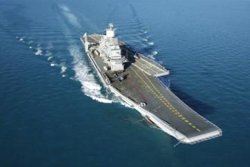 """Este es el aspecto final del nuevo portaaviones indio """"Vikramaditya"""""""