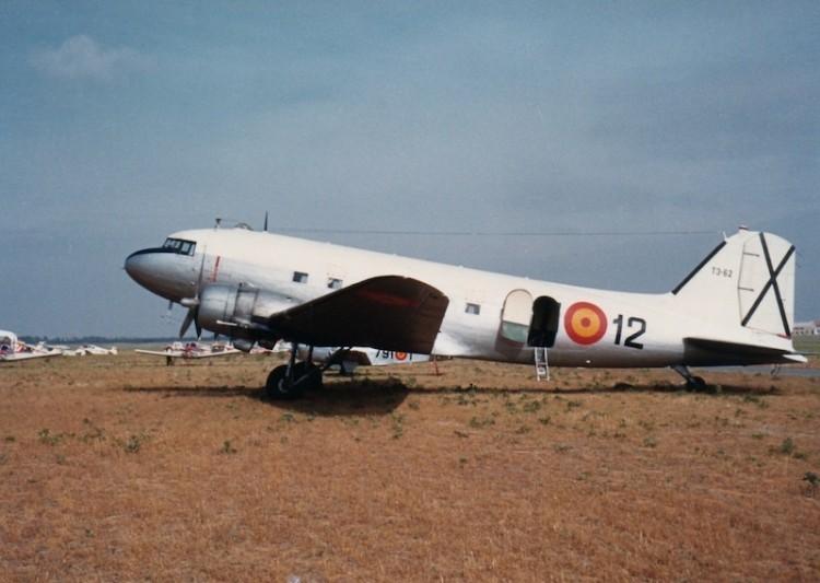 Douglas DC-3 (T.3) del Ejército del Aire español