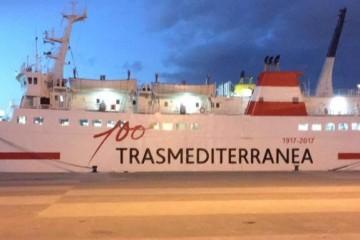 """Este es el remozado aspecto del buque """"Nura Nova"""", ahora fletado por Trasmediterránea"""