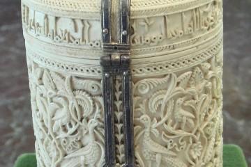 Píxide de Zamora, considerada una de las joyas del arte islámico en España