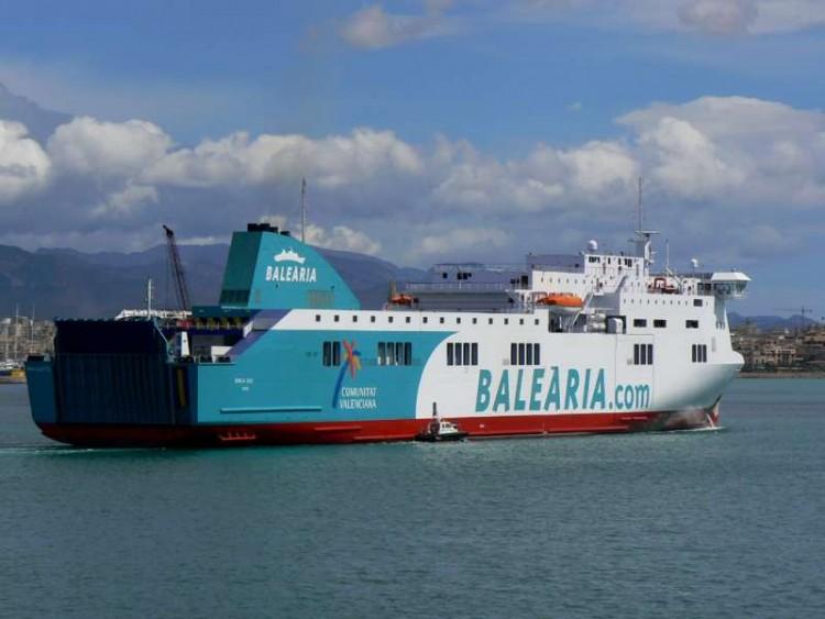 Balearia ya tiene experiencia en la explotación de buques construidos en el astillero Visentini