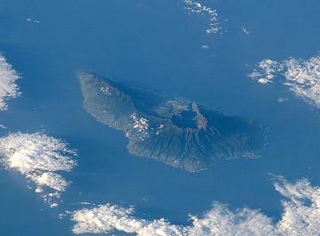 Panorámica de La Palma a vista de satélite de la NASA