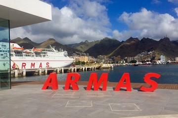 Naviera Armas estrena terminal de pasajeros en el puerto de Santa Cruz de Tenerife