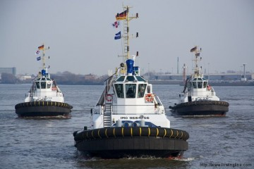 Los remolcadores de URAG son buques de nueva generación