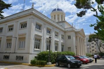 Sede del Instituto Hidrográfico de la Marina, en Cádiz