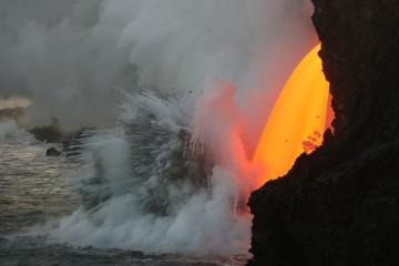 El torrente de lava del volcán Kilauea es noticia internacional