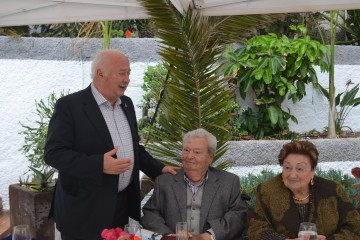Ricardo Melchior Navarro, en su intervención en el homenaje a Alberto Herrera