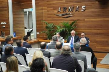 La sesión en Santa Cruz de Tenerife se celebró en la terminal de Naviera Armas
