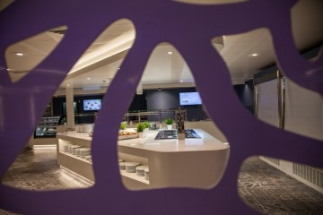 """En la remodelación del buque """"Fortuny"""" destaca el denominado Food Lounge"""