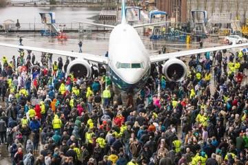El nuevo avión Boeing B-737 Max 9 estará disponible en 2018