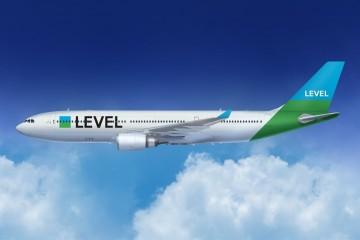 Esta es la imagen corporativa de Level, la nueva aerolínea de IAG