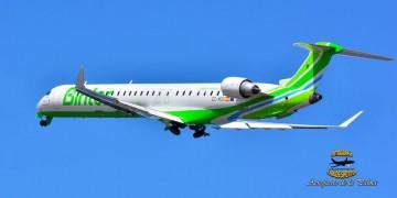 El primer CRJ-1000 alquilado por Binter ya está operativo