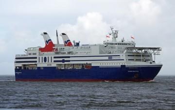 Este buque es la más reciente adquisición de Balearia
