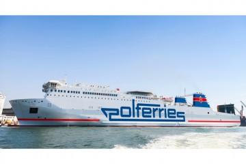 Este será el aspecto exterior del buque adquirido por Polferries