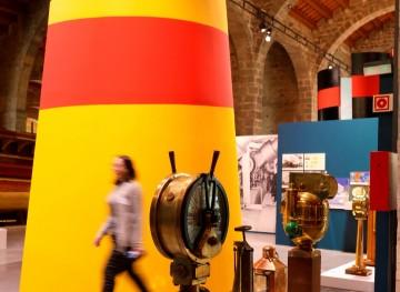 La exposición del Centenario de Trasmediterránea está abierta en el Museu Maritim de Barcelona