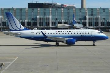Este es el avión de United Express en el que ocurrió el lamentable incidente