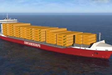 Containerships implantará la primera cadena logística basada e gas natural licuado