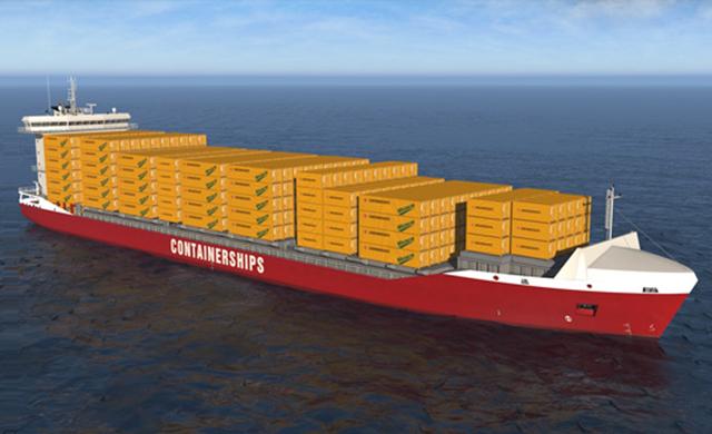 Containerships implantará la primera cadena logística basada e gas natural licuado