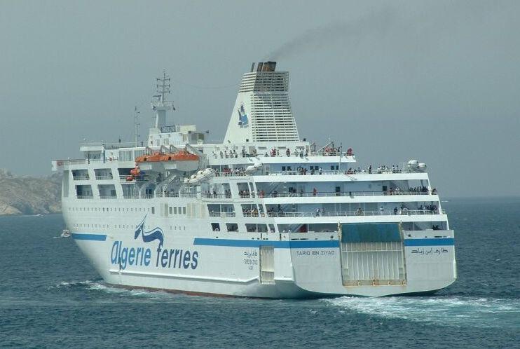 Tres de los buques que tiene Algérie Ferries han sido construidos en España