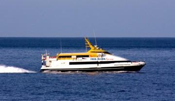 """En la anterior etapa el servicio estuvo atendido por el catamarán """"Benchi Express"""""""