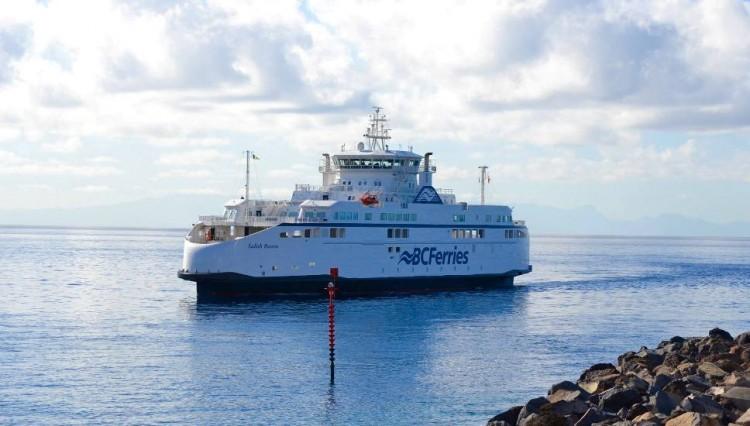 """El buque """"Salish Raven"""", a su llegada al puerto de Santa Cruz de Tenerife"""