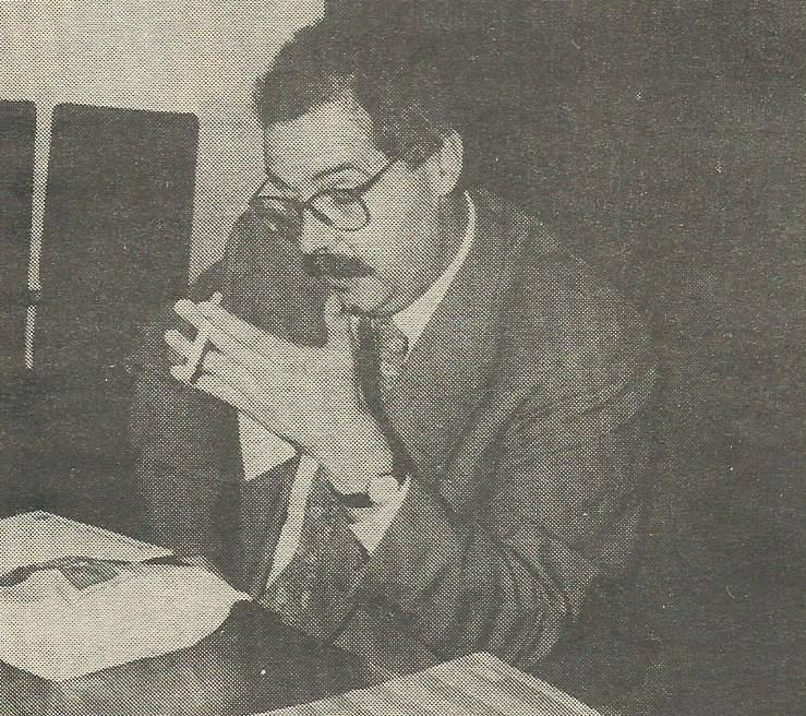 Ricardo Palmero Ventura, en una foto de prensa