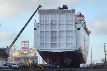 """El ferry """"Volcán de Tauce"""" sigue en ASTICAN"""