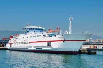 Trasmediterránea tiene una notable implantación en el tráfico marítimo de Marruecos