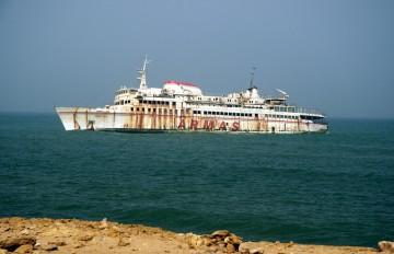 """Este es el aspecto actual del ferry """"Assalama"""", nueve años después"""
