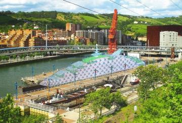 El futuro parque temático estaría situado en uno de los diques de la antigua Euskalduna