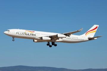 Plus Ultra vuela a Venezuela en ayuda de los sufridos pasajeros de Conviasa