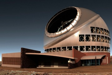 El telescopio de 30 m podría situarse en territorio de Puntagorda