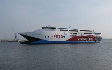 """En la actualidad, el catamarán """"HSC Express"""" se encuentra en Finlandia"""