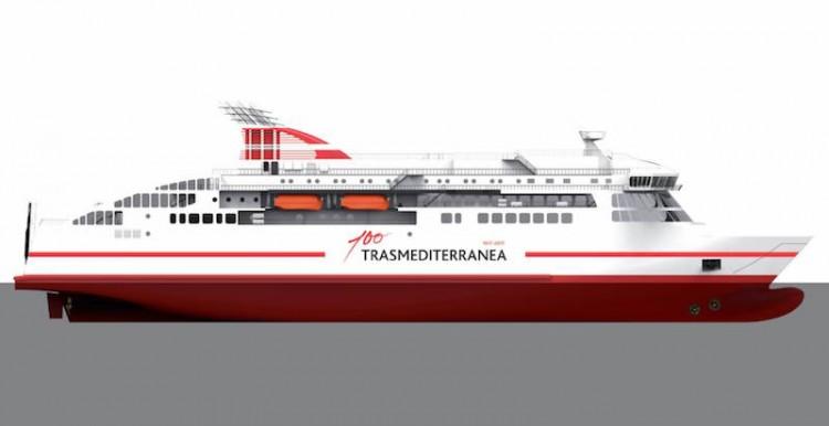 Trasmediterránea es una de las compañías que tiene un buque en construcción